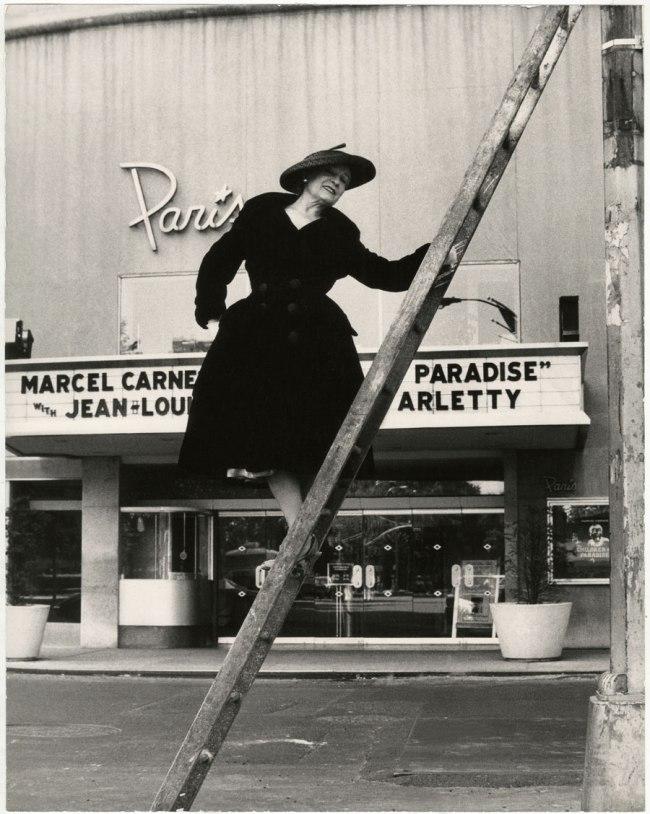 Bill Cunningham. 'Paris Theater (built 1947)' c. 1968-1976