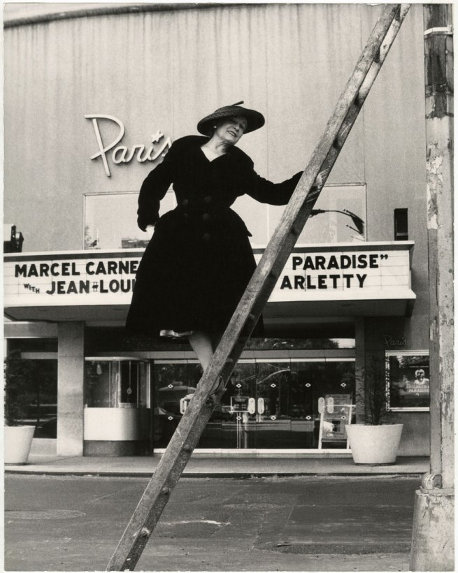 Bill Cunningham. 'Paris Theater (built 1947)' c. 1968-1976