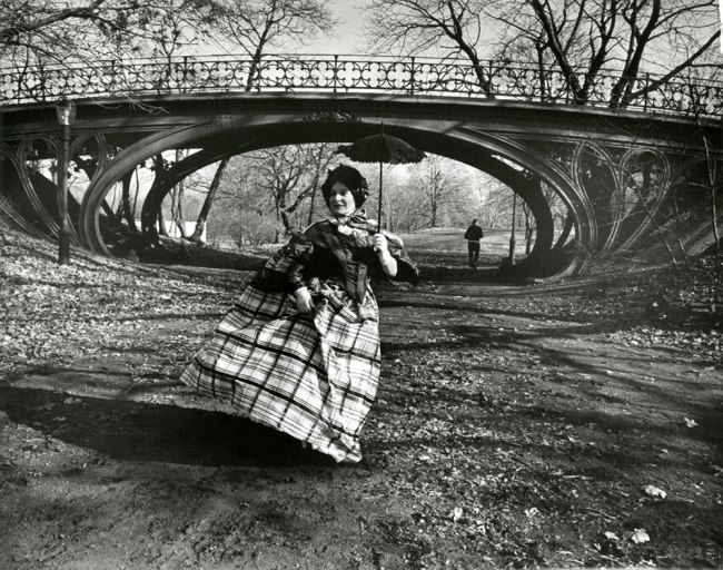 Bill Cunningham. 'Gothic bridge in Central Park (designed 1860)' c. 1968-1976