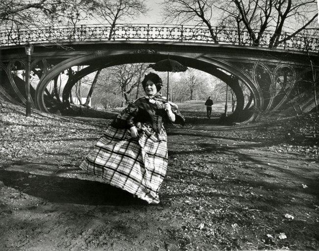Bill Cunningham. 'Gothic bridge in Central Park (designed 1860)' c. 1968-1976