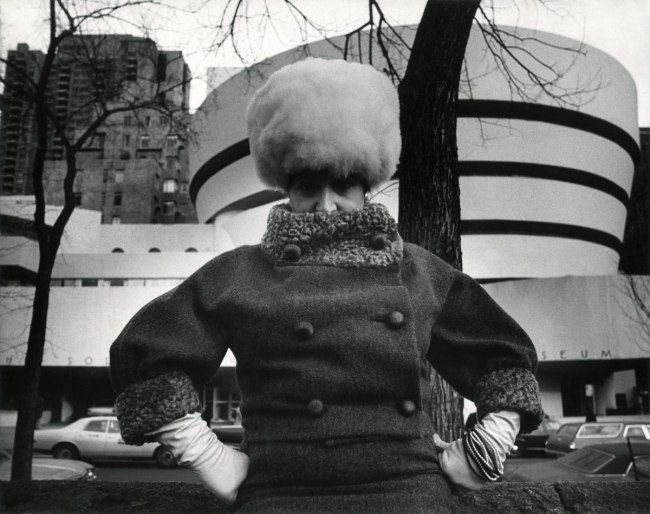 Bill Cunningham. 'Guggenheim Museum (built 1959)' c. 1968-1976