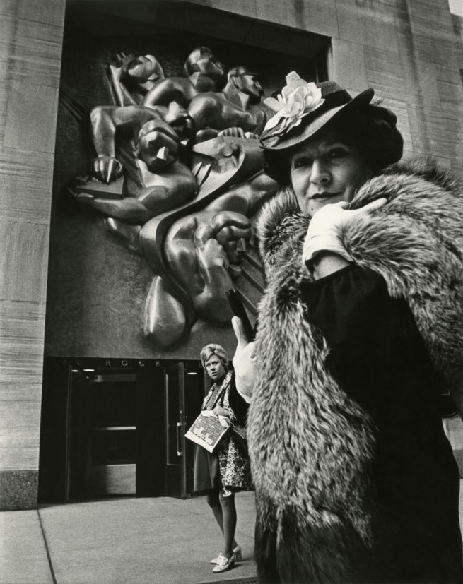 Bill Cunningham. 'Associated Press Building at Rockefeller Center (built c. 1939)' c. 1968-1976
