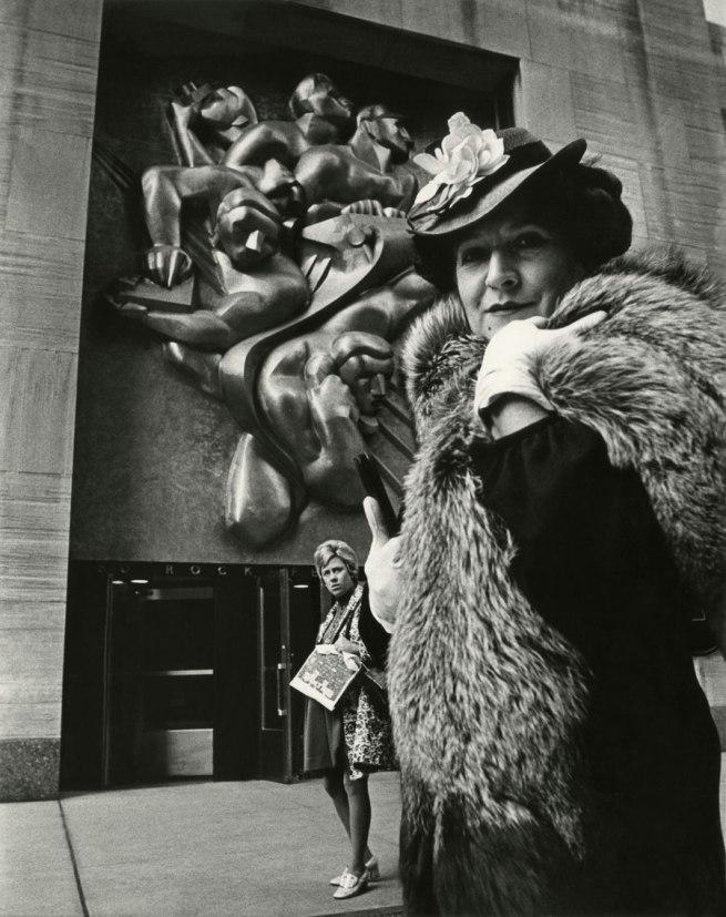 Bill Cunningham. 'Associated Press Building at Rockefeller Center (built c. 1939)' c. 1968-1976