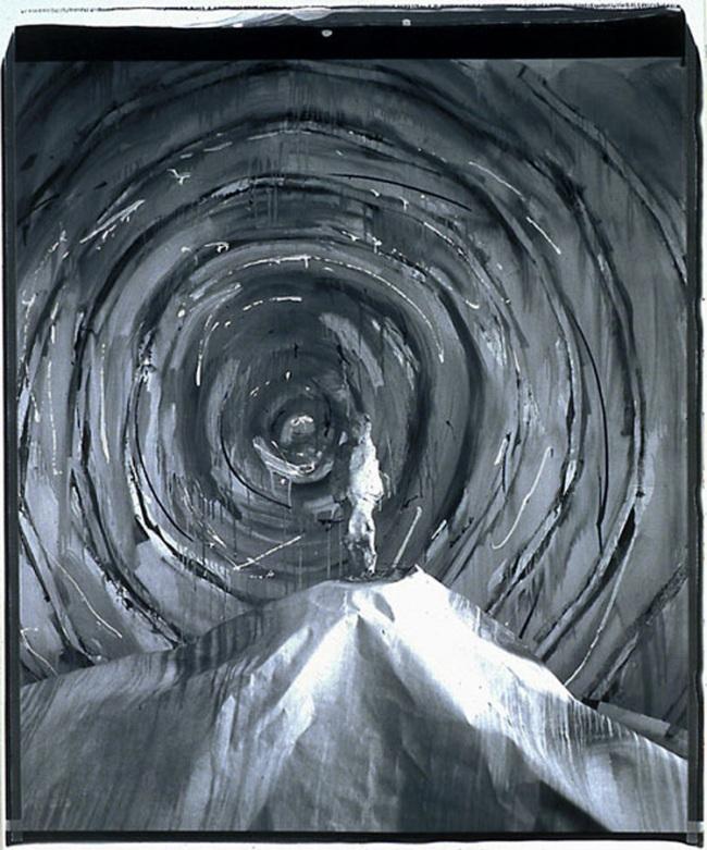 John Divola. 'Man in Vortex, 87CA2' 1987