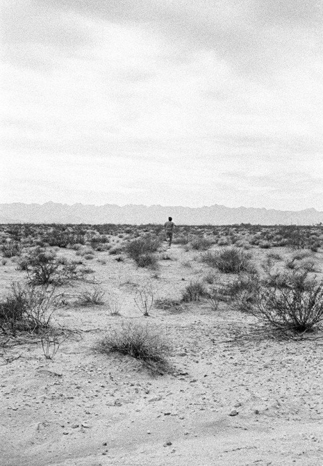 John Divola. 'As Far As I Could Get, 10 Seconds' 1996-97