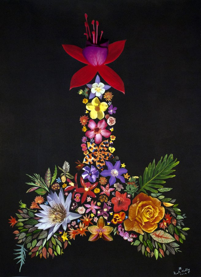 Deborah Kelly. 'Acting up' (in memory of the Floral Clock action, 1991) 2014