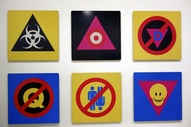 David McDiarmid. 'Pictograms' 1995