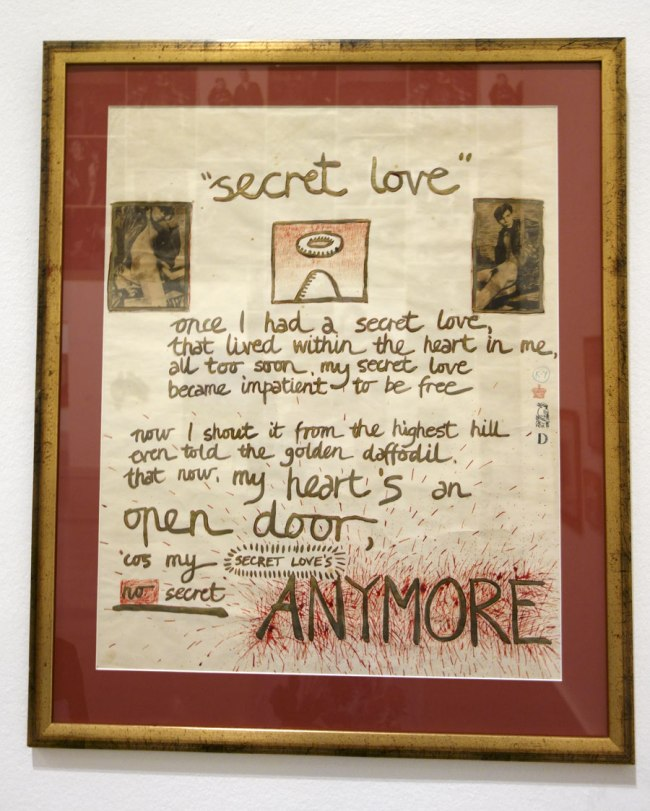 David McDiarmid. 'Secret Love' 1976