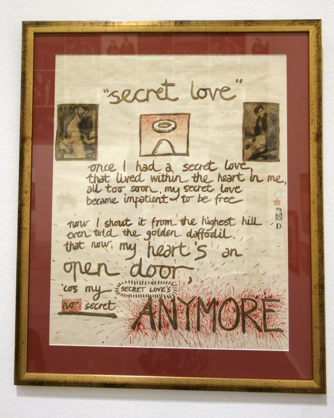 David McDiarmid. 'Secret Love' 1976
