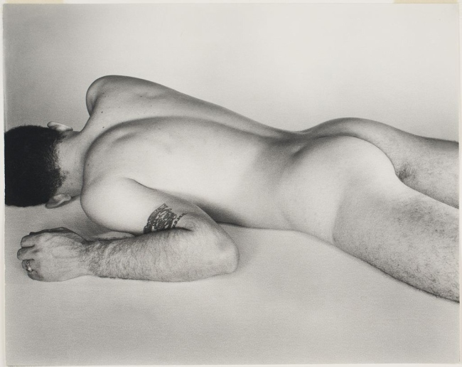 George Platt Lynes. 'Untitled (male nude with tattoo)' 1950-1955