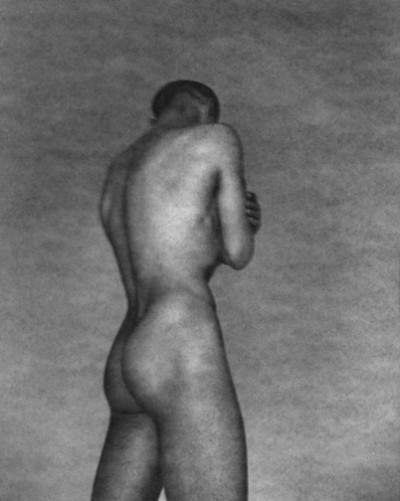 George Platt Lynes. 'Ted Starkowski (standing, arms folded)' c. 1950