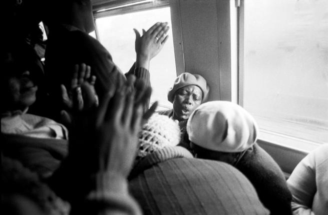 Santu Mofokeng. 'Hands in Worship, Johannesburg - Soweto Line' 1986