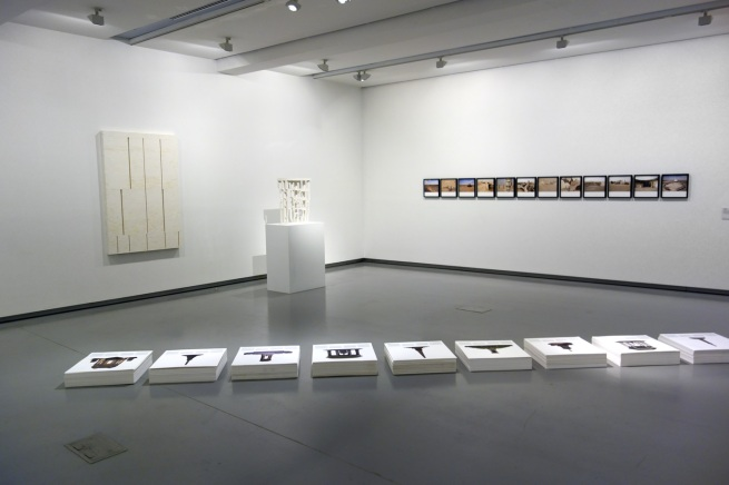 'Concrete' installation view, Monash University Museum of Art, 2014