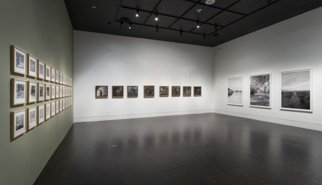 Installation view of 'John Divola: As Far As I Could Get' at the Los Angeles County Museum of Art (LACMA)
