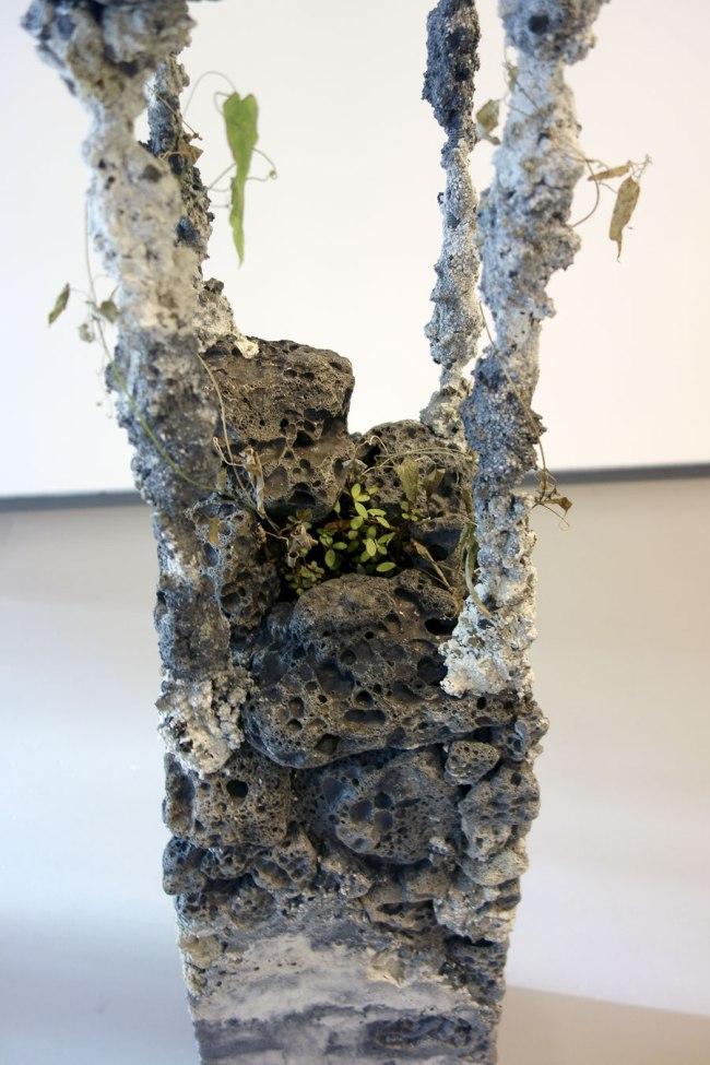 Jamie North. 'Tropic cascade #2' (detail) 2014