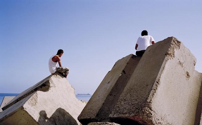Kader Attia. 'Rochers carrés' 2008
