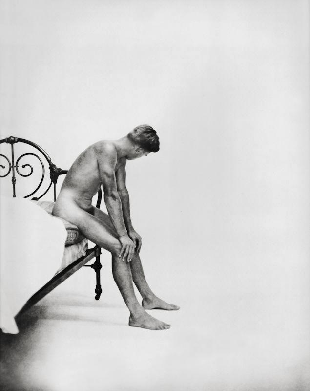 George Platt Lynes. 'Male nude study' 1951