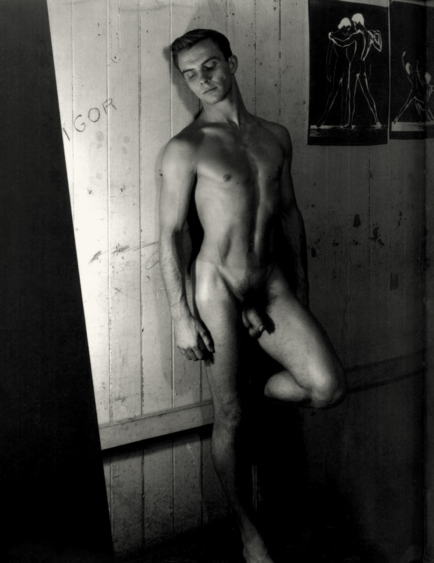 George Platt Lynes. 'Untitled (male nude study)' Nd