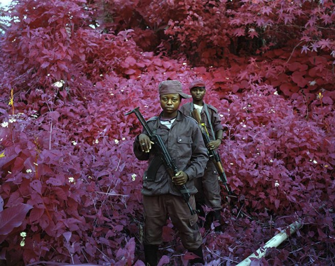 Richard Mosse. 'Man-size, North Kivu, eastern Congo' 2012