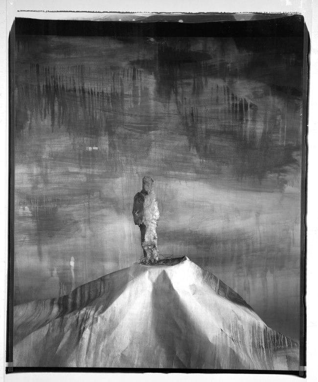 John Divola. 'Man on Hill, 89MHA1' 1987-89