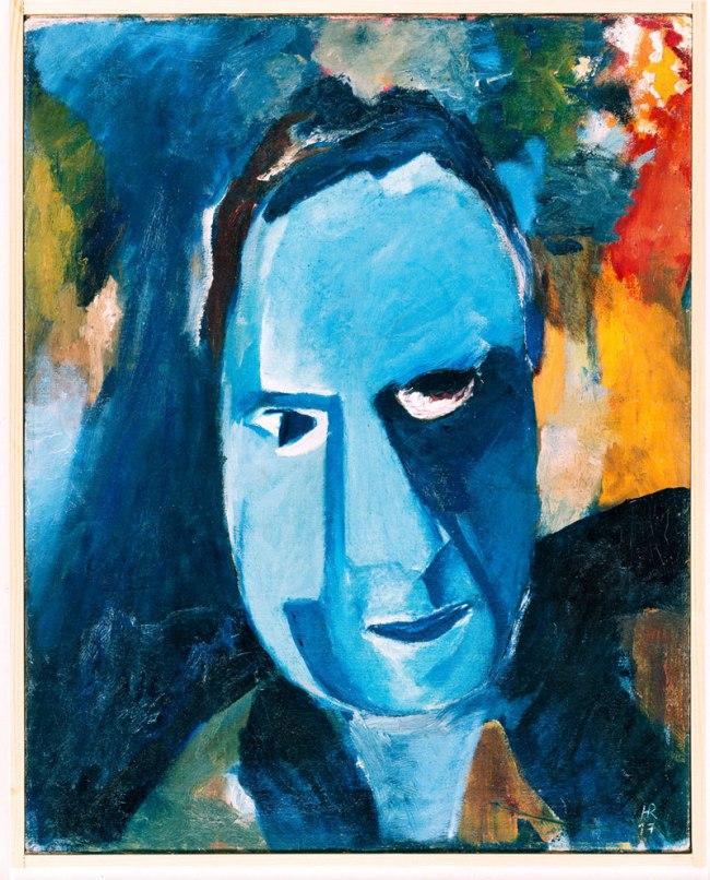 Hans Richter. 'Blue Man' 1917