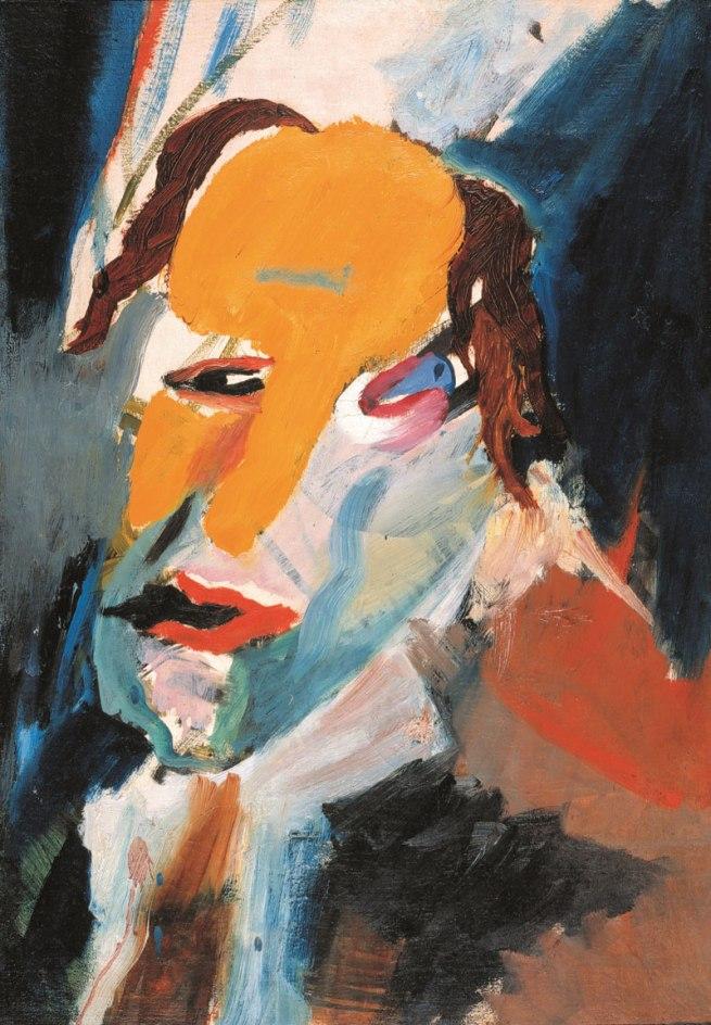Hans Richter. 'Visionary Portrait' 1917