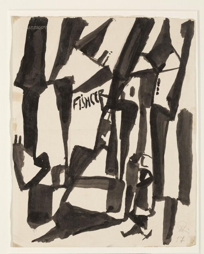 Hans Richter. 'Houses' 1917