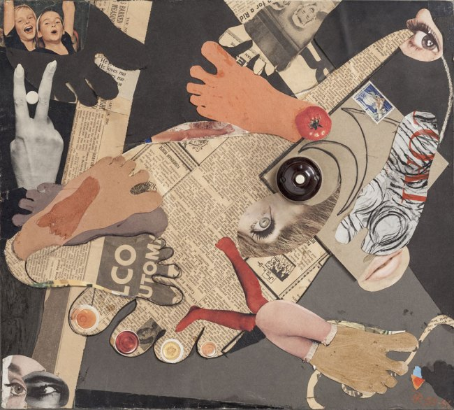 Hans Richter. 'Neither Hand nor Foot' 1955/56