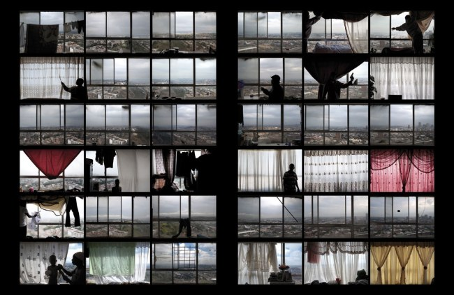 Mikhael Subotzky and Patrick Waterhouse. 'Ponte City, Johannesburg' 2008