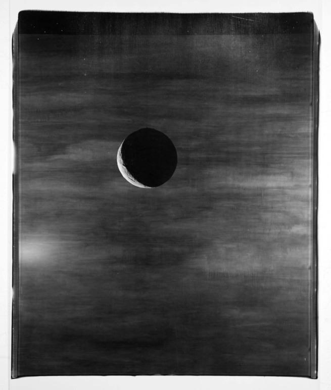 John Divola. 'Moon, 88MOA1' 1988