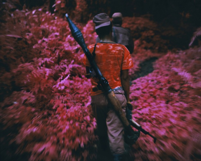 Richard Mosse. 'Ruby Tuesday, North Kivu, Eastern Congo' 2011