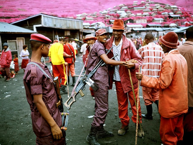 Richard Mosse. 'We Hate It When Our Friends Become Successful, North Kivu, Eastern Congo' 2010
