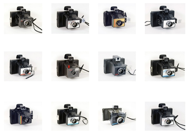 Polaroid camera inspiration