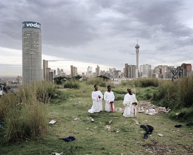 Mikhael Subotzky and Patrick Waterhouse. 'Ponte City from Yeoville Ridge' 2008