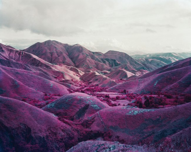 Richard Mosse. 'Nowhere To Run, South Kivu, Eastern Congo' 2010