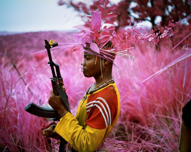 Richard Mosse. 'Safe From Harm, North Kivu, Eastern Congo' 2012