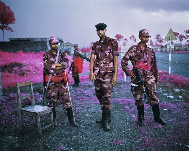 Richard Mosse. 'Suspicious Minds' 2012