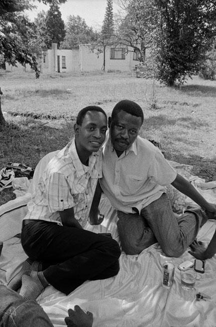 Sabelo Mlangeni. 'Couple Bheki and Sipho' 2009