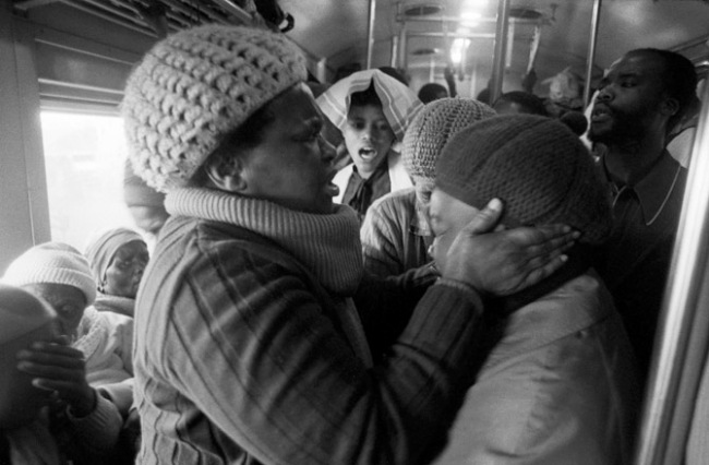 Santu Mofokeng. 'Supplication, Johannesburg - Soweto Line' 1986