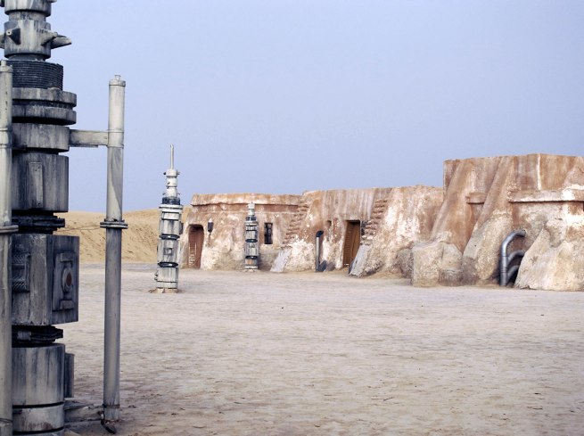 Rä di Martino. 'No More Stars (Abandoned Movie Set, Star Wars)' 2010 (detail)