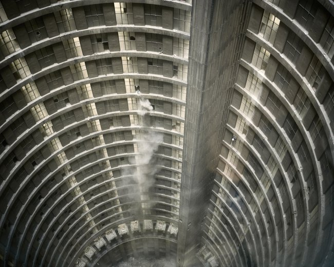 Mikhael Subotzky and Patrick Waterhouse. 'Untitled I, Ponte City, Johannesburg' 2008