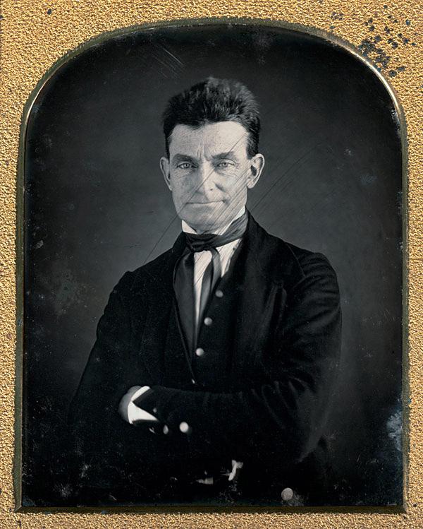 Augustus Washington, American (1820-1875) 'John Brown' c. 1846-1847