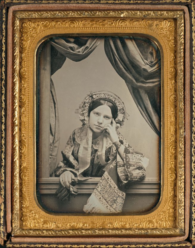 David C. Collins, American, 1825-1909 Thomas P. Collins, American, 1823-1873. 'Portrait of Annie M. Collins' c. 1847