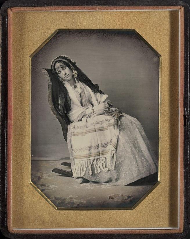 David C. Collins, American, 1825-1909 Thomas P. Collins, American, 1823-1873. 'Portrait of Frances Amelia Collins Mitchell' c. 1850