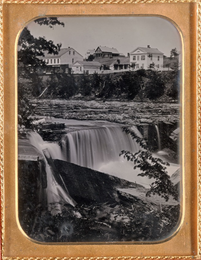 Unknown. 'St. Anthony Falls' c. 1852