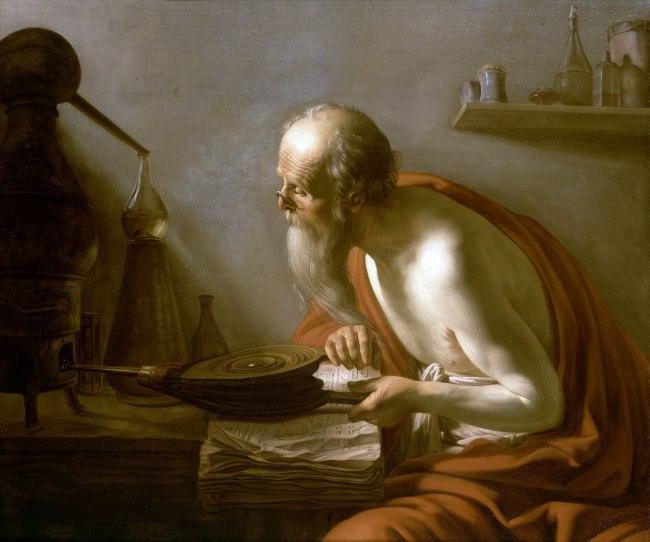 Johan Moreelse. 'The Alchemist' 1630