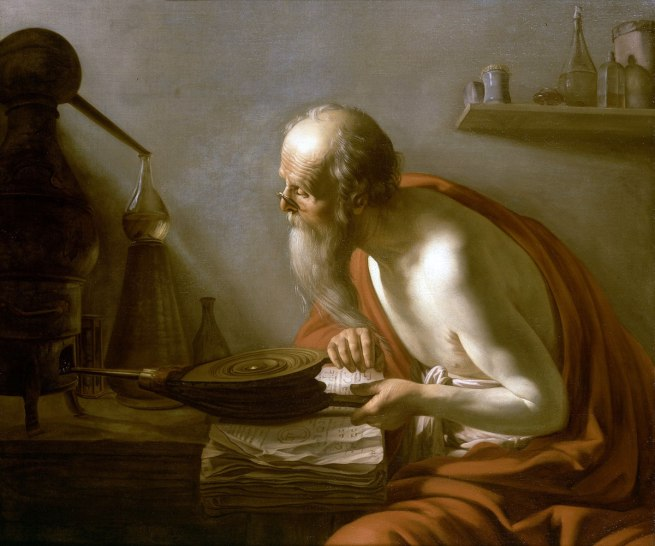Johan Moreelse. 'The Alchemist' 1630