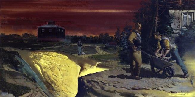Neo Rauch. 'Goldgrube' [Goldmine] 2007
