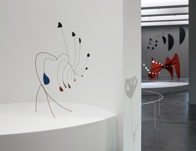 Installation views of 'Calder and Abstraction: From Avant-Garde to Iconic' at the Los Angeles County Museum of Art (LACMA)