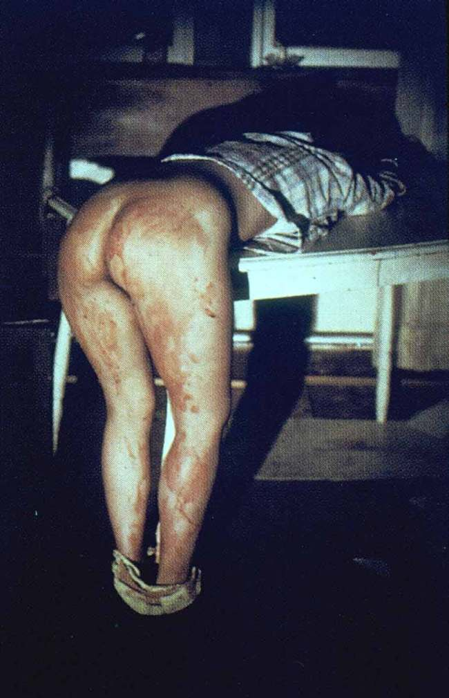 Ana Mendieta. 'Rape Scene' 1973